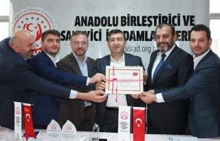 Anadolu ASİAD'ın Avrupa temsilcisi Sedat Demir...
