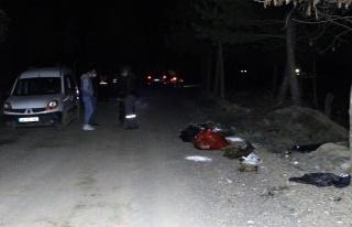 Ankara'da Patilerine Damar Yolu Açılmış Onlarca...