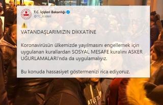 Ankara ve Konya'da Yüzlerce Kişi Asker Uğurlaması...
