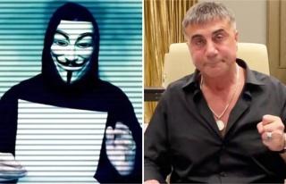 Anonymous'tan Sedat Peker'e: 'Yürü Git, Faşist'