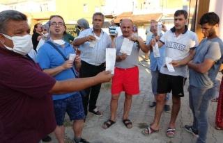 Antalya'da Mahalle Sakinleri Faturalara İsyan Etti:...