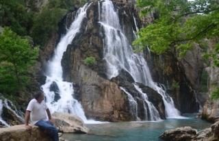 Antalya'nın gizli güzelliği 'Uçansu Şelalesi'