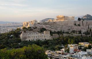Antik Şehir Akropolis'e Beton Yol Yapıldı: Arkeologlar...