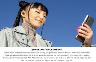 Apple reklamında Samsung telefon