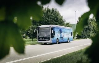 Ar-Ge'si Türkiye'de yapılan elektrikli otobüs,...