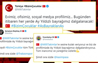 #AsBayraklarıAs: Süper Lig Kulüplerinden A Milli...
