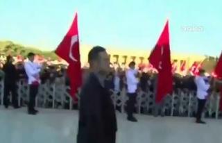Atatürk İçin Anıtkabir'de Düzenlenen Devlet Töreni...