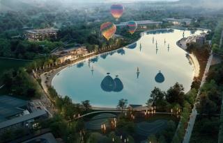 Avrupa'nın en büyük kristal lagün havuzunun...