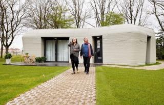 Avrupa'nın İlk Yaşanabilir 3 Boyutlu Baskı Evi...