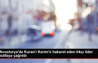 Avusturya'da Kuran'ı Kerim'e hakaret eden Irkçı...
