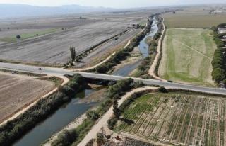 Aydın'daki kuraklık, Menderes'i etkiledi