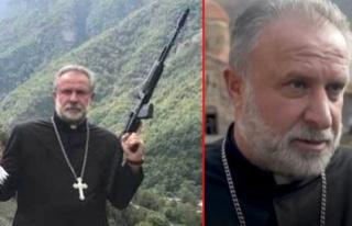 Azerbaycan'a karşı silah gösteren papaz, yenilgi...