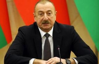 Azerbaycan Cumhurbaşkanı Aliyev'den sivil yerleşimleri...