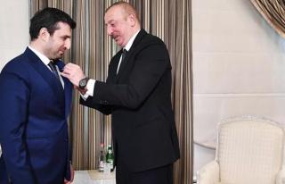 Azerbaycan Cumhurbaşkanı Aliyev, Karabağ zaferinde...