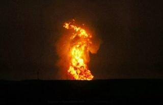 Azerbaycan'da korkutan patlama