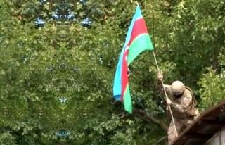 Azerbaycan ordusu, tam 27 yıl sonra Fuzuli kentini...