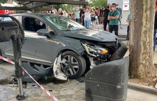 Bağdat Caddesi'nde Aşırı Hız Yapan Sürücünün...
