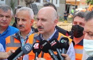 Bakan Adil Karaismailoğlu: 'Ortalığı önemli ölçüde...