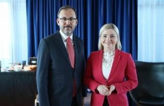 Bakan Kasapoğlu'dan İzlanda'da kritik görüşme!