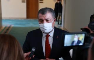 """Bakan Koca: """"Türkiye'de mutasyonun görülme..."""