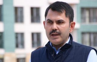 Bakan Kurum: 'Marmara Denizi'mizi eski maviliğine...