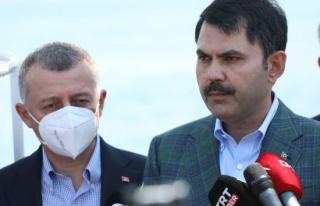 Bakan Kurum: 'Marmara'mızın kirlilikle yaşamasına...