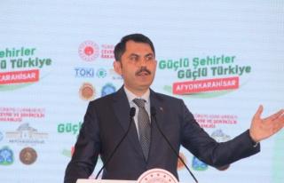 Bakan Kurum: 'Türkiye genelinde 321 Millet Bahçesinin...