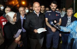 Bakan Soylu: 'Kastamonu ve Sinop'ta Toplam 77 Kayıp...