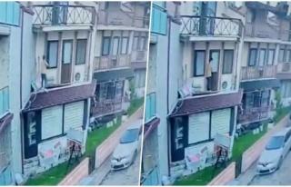Balkondan Tırmanarak Evine Giren Tacizciden Kaçtı:...