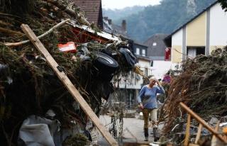 Batı Avrupa'daki Sel Felaketinde Can Kaybı 183'e...