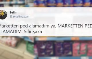 Bazı Marketler Genelge Bahanesiyle Ped Satışına...