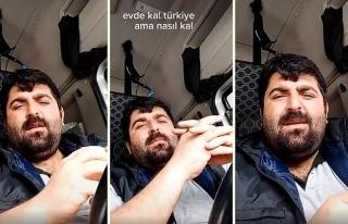 'Beni Virüs Değil Düzeniniz Öldürür' Diyen TIR...