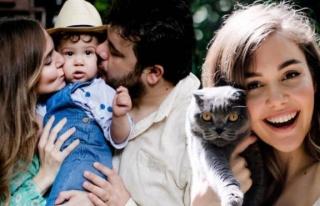Berfu ile Eser Yenenler'in kedisi corona oldu