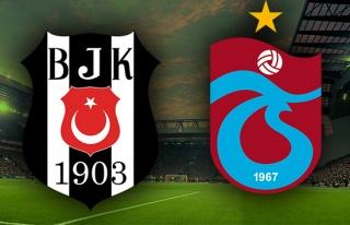 Beşiktaş Trabzonspor Canlı İzle | BJK TS ilk 11'ler...