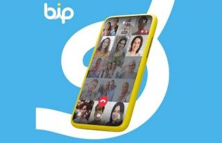 Bip'te grup görüntülü görüşmelerdeki desteklenen...