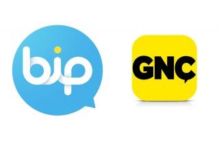BiP ve GNÇ Türkiye'nin en çok tercih edilen uygulamaları...