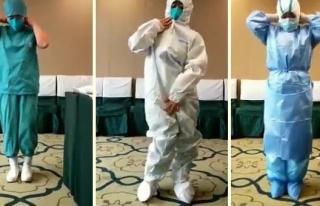 Bir Sağlık Çalışanı, Koronavirüs Vak'asına...