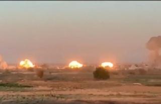 Birleşik Ortak Görev Gücü terör örgütü DEAŞ'ı...