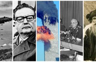 Bombalı Saldırılar, Darbe, İkiz Kuleler, Tarihte...