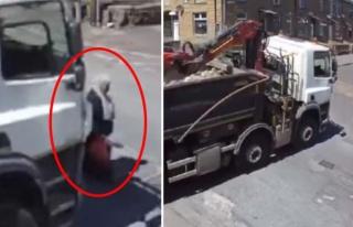 Böyle kaza görülmedi! Şoförün fark etmediği...