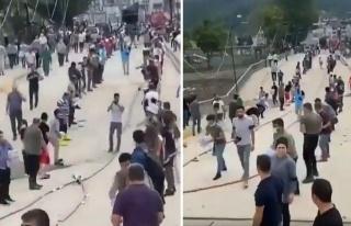 Bozkurt'ta Köprü Hasar Gördü, Vatandaşlar Yardımları...