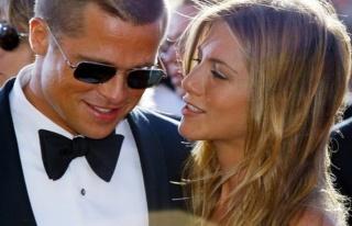 Brad Pitt ile Jennifer Aniston 19 yıl sonra aynı...