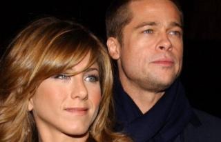Brad Pitt ve Jennifer Aniston yıllar sonra aynı...