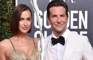 Bradley Cooper'dan Irina Shayk'a hayran bakışlar