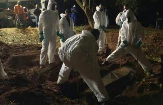 Brezilya'da koronavirüs ölümleri 400 bini geçti,...