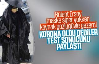 Bülent Ersoy, koronavirüs test sonucunu paylaştı