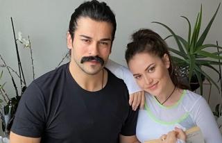 Burak Özçivit ve eşi Fahriye Evcen'den karantina...