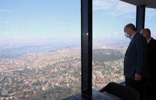 'Çamlıca Kulesi'ndeki Restoranın Erdoğan'a Yakın...