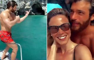 Can Yaman ve Diletta Leotta'nın Capri kaçamağı