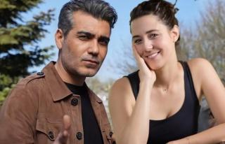 Caner Cindoruk ve Melis Birkan tiyatronun yeni ikilisi...